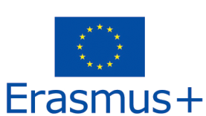 logo erasmus, bandiera blu dell'europa con le stelle